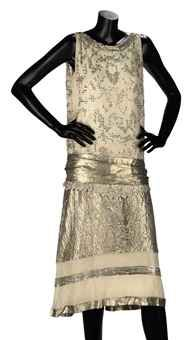 Lelong Beaded Coctail Dress - 1920's - by Lucien Lelong (French, 1889-1958) - Christie's