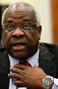 U.S. Supreme Court Justice Clarence Thomas Breaks Seven-Year Silence in Court.