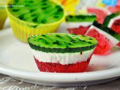 Arbuziczki - mini serniczki arbuzowe Taki deser... mmm palce lizać :D