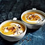 A spoonful of this wonderfully caramelised onion soup will instantly warm you up from the inside out.