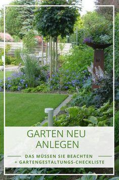 Fesselnd Garten Anlegen Aber Wie? So Planen Sie Ihren Garten Richtig
