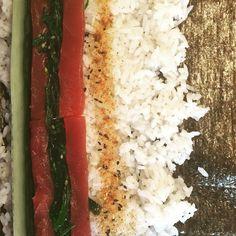 Sushi nog niet opgerold