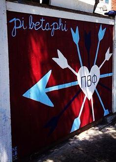 Pi Beta Phi fence! #piphi #pibetaphi