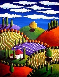 Folk landscape