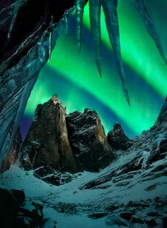Aurora Borealis , Yukon Territory, Canada