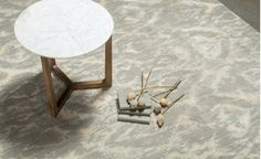 Coco Republic San Fran Deco Side Table - Marble
