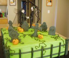 Easy Halloween Cake Ideas | Halloween cake I made