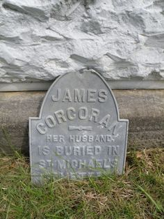 """""""Her husband, is buried in St. Michale's Cemetery"""" Saint Malachi Cemetery- Corning, Ohio"""