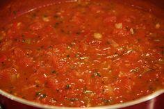 Deep South Dish: Fresh Tomato Pasta Sauce