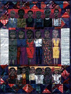 Faith Ringgold The Purple Quilt