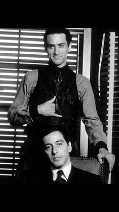 Robert and Al in the godfather