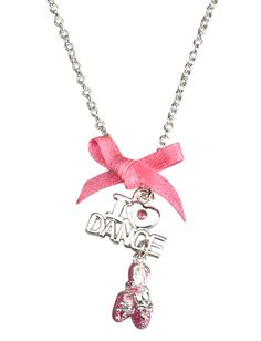 I Heart Dance Necklace | Necklaces | Jewelry | Shop Justice