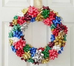 Awesome Easy to Make Wreaths ~ http://www.lookmyhomes.com/easy-to-make-wreaths/