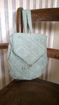 Ravelry: Tunisian Diamond Bag pattern by Gillian Buckerfield