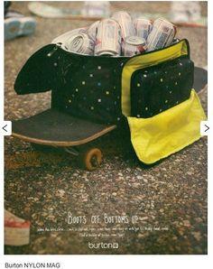Print Ad Copy: Burton Snowboards by jamaica jenkins, via Behance