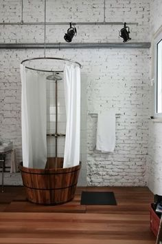 Waschzuber Dusche . Laundry tub shower . Decoracion Hogar