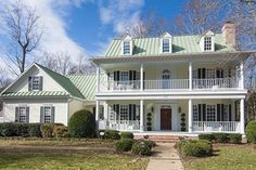 Southern Exterior - Front Elevation Plan #137-107 - Houseplans.com