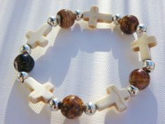 Ice Crossing Bracelet via Hippychick Creations. Click on the image to see more!