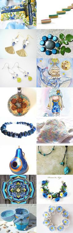 Blues by Dennis and Kay on Etsy--Pinned with TreasuryPin.com