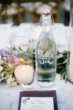 Table number idea!!