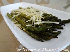 The Adventures of J-Man and Millerbug » Summer Side Dish: Grilled Parmesan Asparagus