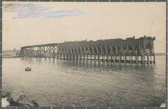 Embarcadero de Alquife (Cable Inglés), 1910-20, Almería.  Fuente: Ajuntament de Girona