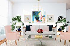 Felicity, abstract art print by Parima Studio #gallerywall #livingroom