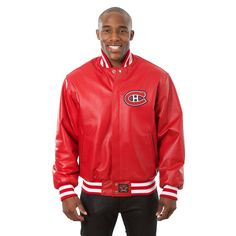 Montreal Canadiens JH Design Jacket - Red