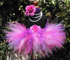 Baby Tutu Skirt  Girls 1st Birthday Tutu  Pink by TiarasTutus, $27.00
