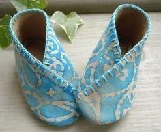 Baby Kimono Shoes Sewing Pattern - PDF ePattern. $3.99, via Etsy.