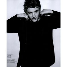BlackBook Editorial Born This Way | Max Irons, April 2011 Shot #1 -... ❤ liked on Polyvore featuring max irons, people, guys, males, boys and editorial