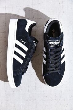 adidas Campus Sneaker from Urban Outfitters. Shop more products from Urban Outfitters on Wanelo. Adidas Campus, Adidas Fashion, Sneakers Fashion, Fashion Shoes, Fashion Outfits, Fall Outfits, Fashion Trends, Women's Shoes, Blue Shoes