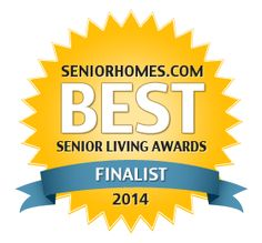 We made it to finalist in the SeniorHomes.com Senior Living Awards for Best Blog by Individuals! Thanks for voting for us!