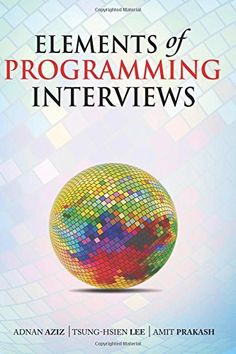 Elements of Programming Interviews: The Insiders' Guide by Adnan Aziz.. Different candidates have different time constraints, includes a study guide with scenarios, ranging from weekend Hackathon to semester long preparation.  Problems are classified iby difficulty level & include many variants to help you apply what you have learned more widely. http://search.lib.uiowa.edu/01IOWA:default_scope:01IOWA_ALMA21300436250002771
