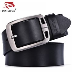 09579f6d05 Men's Genuine Leather Pin Buckle Luxury Belt //Super Sale: $21.00 & FREE  Shipping