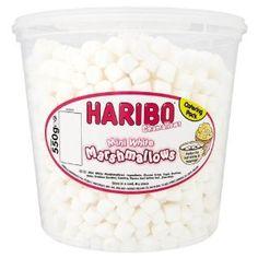 HARIBO Chamallows Mini White Marshmallows Tub - 550g - http://handygrocery.org/grocery-gourmet-food/haribo-chamallows-mini-white-marshmallows-tub-550g-ca/