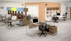 LINHA ERGO UP | Nossos designers são responsáveis pela linda coleção Ergo UP, que proporciona um melhor aproveitamento do espaço físico, sem perder o conforto e a harmonia. (Escritório)