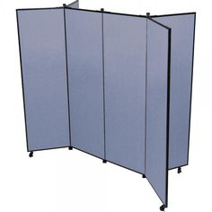 Select from either the 3 or 6-winged art display towers. Both systems are constructed from sound absorbing, tack-able panels covered with long lasting fabric. Screenflex Display Systems arrive fully assembled and ready for use! Create instant information stations, display artwork, registration materials or directions.