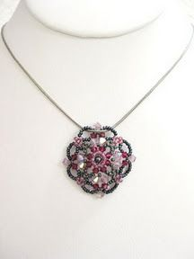 A Bunch of Tutorials.  I didn't find this divine necklace but there are all sorts of other beautiful projects I must try!