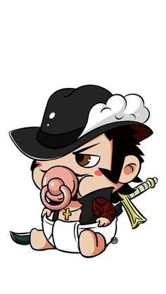 Chibi baby Mihawk One Piece