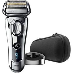Braun Series 9 9293s Wet  Dry Electric Shaver for Men with Charging Stand Premium Chrome Cordless Razor Razors Shavers Pop up Trimmer Travel Case -- Click image for more details.Note:It is affiliate link to Amazon.