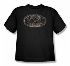 Batman Bio Mech Logo Youth T Shirt only $18.95 at #kiditude