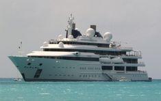 katara yacht | Motor Yacht KATARA by Lurssen in St Martin, Caribbean — Luxury Yacht ...