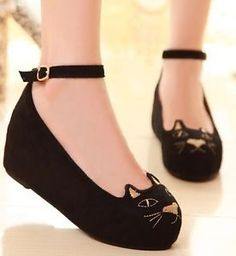 ) Wedge Faux Suede Court Shoes for Women Cat Shoes, Shoes Uk, Sock Shoes, Shoe Boots, Shoes Heels, Platform Wedges Shoes, Wedge Shoes, Platform Pumps, Cute Wedges