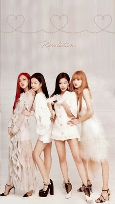 Blackpink is the revolution Kpop Girl Groups, Korean Girl Groups, Kpop Girls, Lisa Blackpink Wallpaper, Black Pink Kpop, Blackpink Photos, Blackpink Fashion, Jennie Blackpink, Blackpink Jisoo