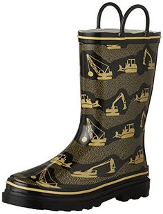 Western Chief Kids Construction Site Rain Boot (Toddler/Little Kid) -- Learn