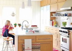 Is It Custom? Or IKEA? A Swedish Architect's Kitchen Country Home