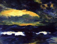 Emil Nolde (1867-1956) - Light Breaking Through Tumblr