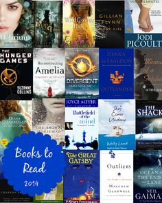 Books to Read in 2014. Divergent & the Outlander series are already on the list!