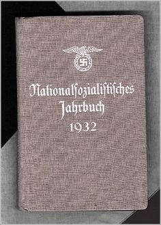 THE SIXTH EDITION OF THE NAZI PARTY YEARBOOK